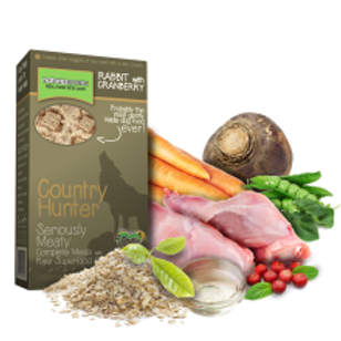 Country Hunter Rabbit with Cranberry Superfood Crunch
