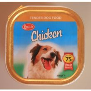 Best-in Dog Food Chicken Alu 75p