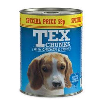 Tex Chicken & Tripe 59p