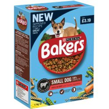 Bakers Small Dog Beef & Vegetables PM £3.19