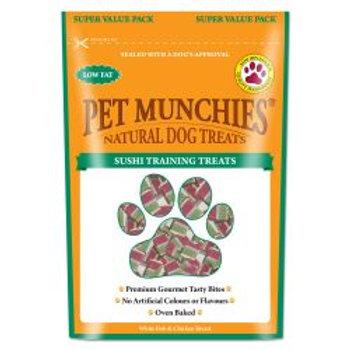 Pet Munchies Natural Sushi Training Treats Super Value Pack