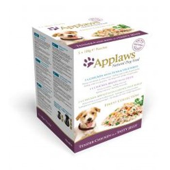 Applaws Dog Pouch Finest Mixed Pack 5 Pack