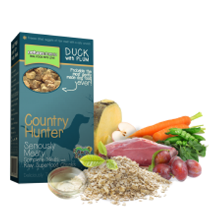 Country Hunter Duck with Plum Superfood Crunch