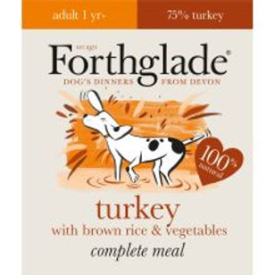 Forthglade Complete Meal Adult Turkey with Brown Rice & Vegetables