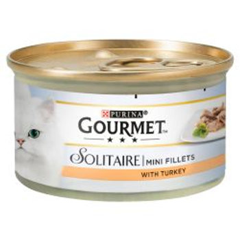 Gourmet Solitaire Premium Fillets with Turkey