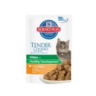 Hills Science Plan Kitten Tender Chunks in Gravy with Chicken