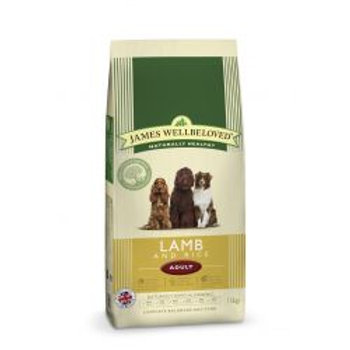 James Wellbeloved Dog Adult Lamb & Rice