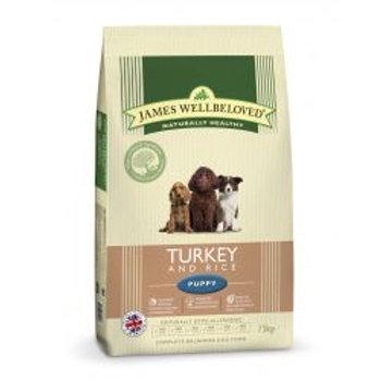 James Wellbeloved Dog Puppy Turkey & Rice