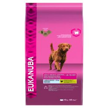 Eukanuba Adult Weight Control 1-6 Years Large Breed >25kg Dry Dog Food