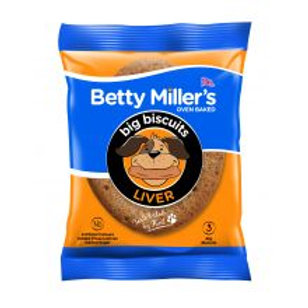 Betty Millers Liver Big Biscuits 3 Pack