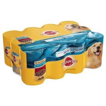 Pedigree Chunks In Jelly Fish Oil 12 Pack