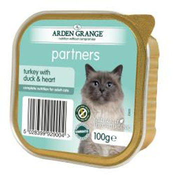 Arden Grange Cat Partners Turkey, Duck & Heart
