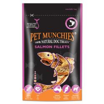 Pet Munchies 100% Natural Salmon Fillets