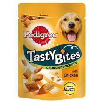 Pedigree Tasty Bites Crunchy Pockets with Chicken