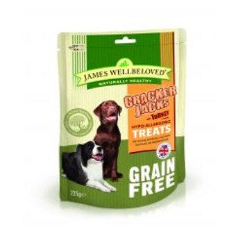 James Wellbeloved Crackerjack Grain Free Turkey & Vegetable