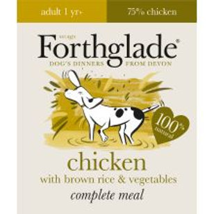Forthglade Complete Meal Adult Chicken with Brown Rice & Vegetables