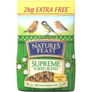 Natures Feast Supreme 8 Seed  Blend