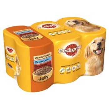 Pedigree Can In Jelly 6 Pack