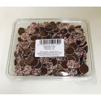 Monster Mini Disc Plain Chocolate