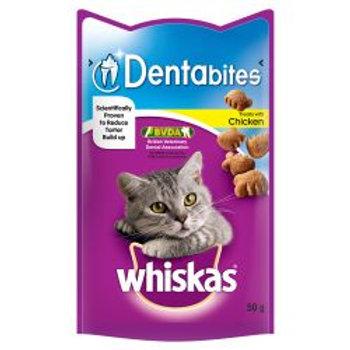 Whiskas Dentabites Cat Treats with Chicken