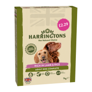 Harringtons Lamb & Rice £2.29