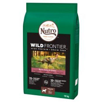 Nutro Dog Wild Frontier Adult Medium Breed Turkey & Chicken 10kg