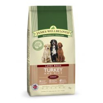 James Wellbeloved Dog Adult Large breed Turkey & Rice