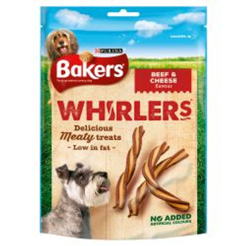 Bakers Whirlers Beef & Cheese