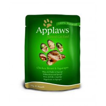 Applaws Cat Pouch Chicken & Asparagus 12 Pack