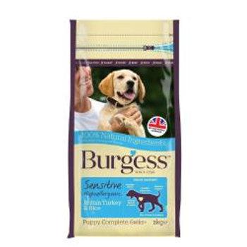 Burgess Sensitive Puppy Turkey & Rice
