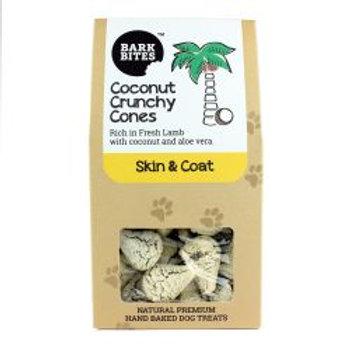 Bark Bites Coconut Crunchy Cones