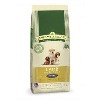 James Wellbeloved Dog Adult Light Lamb & Rice