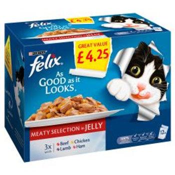 Felix As Good As It Looks Meaty Selection In Jelly PM £4.25