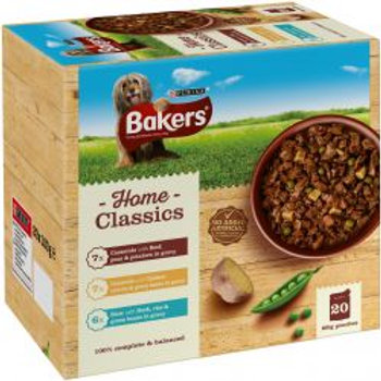 Bakers Pouch Home Classics Beef