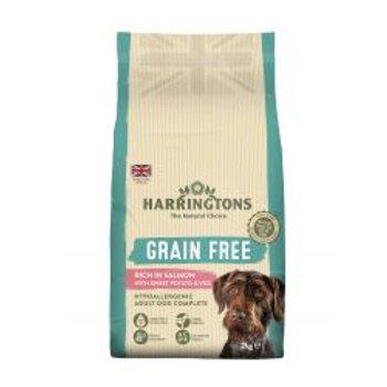 Harringtons Grain Free Hypoallergenic Salmon