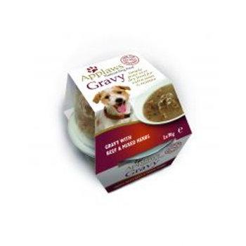 Applaws Dog Gravy pot Beef 2 pack