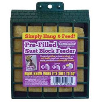 Suet To Go Block & Feeder