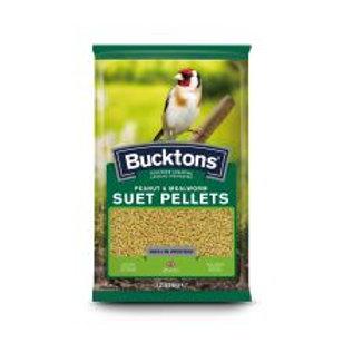 Bucktons Suet Pellets Peanut & Mealworm