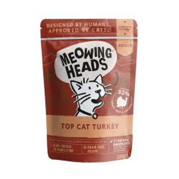 Meowing Heads Top Cat Turkey Pouch (Formally Drumstix)