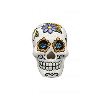 Fish 'R' Fun Skull Ornament White