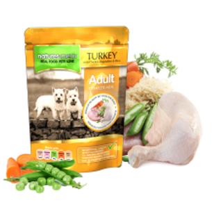 Natures Menu Turkey with Chicken Dog Pouches