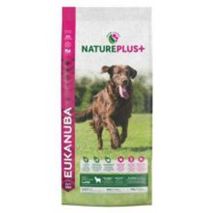 Eukanuba Nature Plus+ Adult Large Breed Rich in freshly frozen Lamb