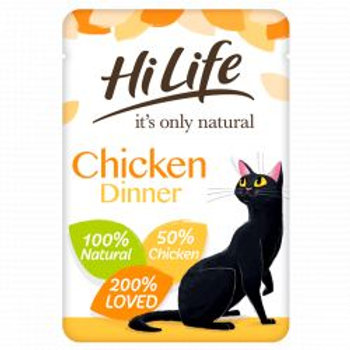 HiLife It's Only Natural - Chicken Dinner In Jelly 70g