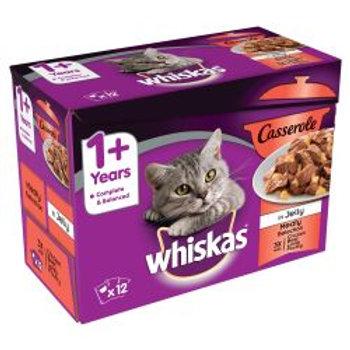 Whiskas Casserole 1+ Meaty 12 Pack