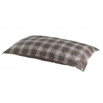 Do Not Disturb Tartan Brown Duvet
