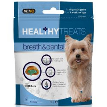 VETIQ Healthy Treats Breath & Dental Dog Treats