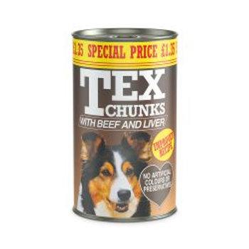 Tex Beef & Liver £1.35