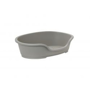 Do Not Disturb Plastic Dog Bed No5 Warm Grey