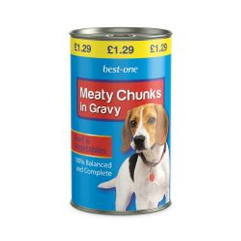 Best-one Dog Beef & Veg £1.29