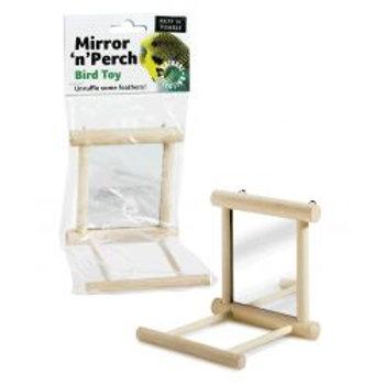 Ruff 'N' Tumble Mirror 'N' Perch Bird Toy